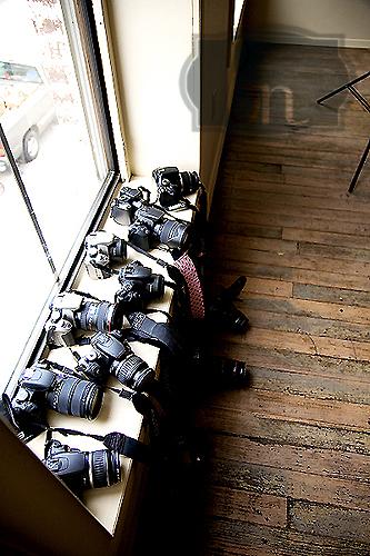 Photography workshop cameras